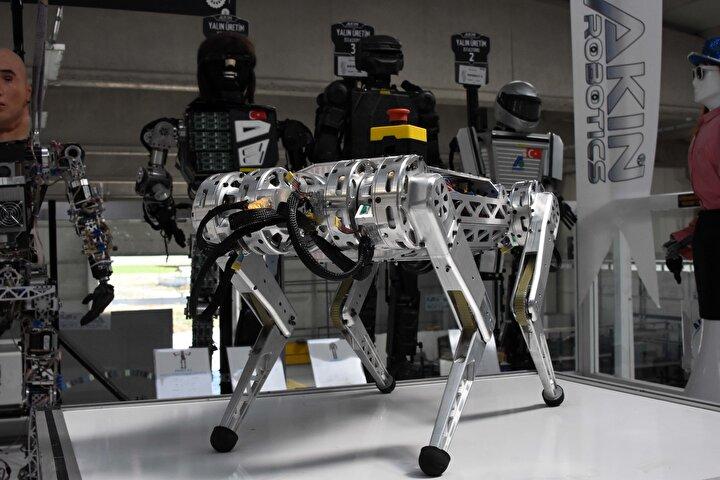 Geliştirdikleri 4 ayaklı robot, insanlar için tehlikeli işlerde kullanılacak