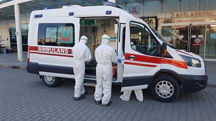 Karabük Eğitim ve Araştırma Hastanesi'nde 24 hasta tedavi altına alınırken, 5 hasta ise tedavilerinin ardından taburcu edildi.