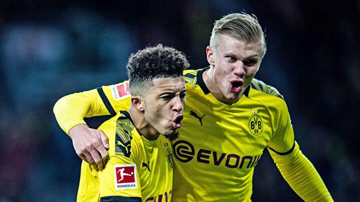 Adaylar arasında Borussia Dortmundun yıldızları Erling Haaland ve Jadon Sancho da yer aldı.