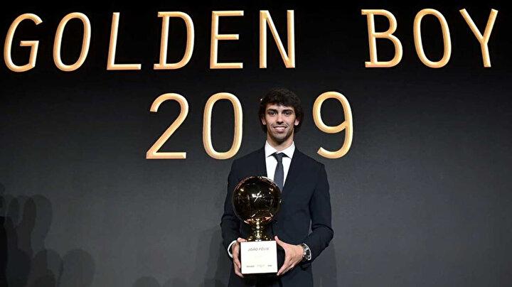Geçen sezon ödülü Atletico Madridin yıldızı Joao Felix kazanmıştı.