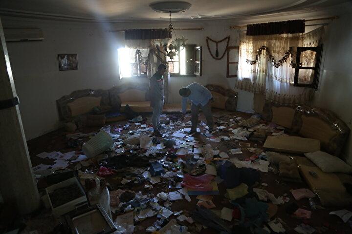 Libya Mayın ve Savaş Kalıntılarını Temizleme Merkezinden yapılan basın açıklamasında, Hafter milislerinin özellikle başkent Trablusun güney semtlerine tuzakladığı patlayıcılar ve mayınların infilak etmesinden 110 kişinin etkilendiği kaydedildi.
