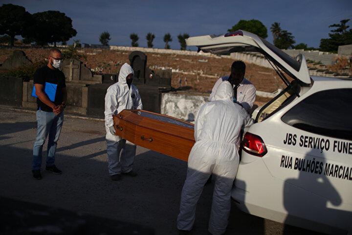 Ülke şu an koronavirüs salgınının merkez üssü ve durum her geçen gün kötüleşiyor.