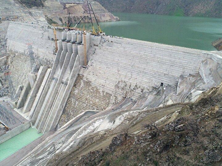 Baraj ile yılda 1 milyar 175 milyon kWh enerji üretilecek ve milli ekonomiye yılda yaklaşık 500 milyon TL katkı sağlanacak.