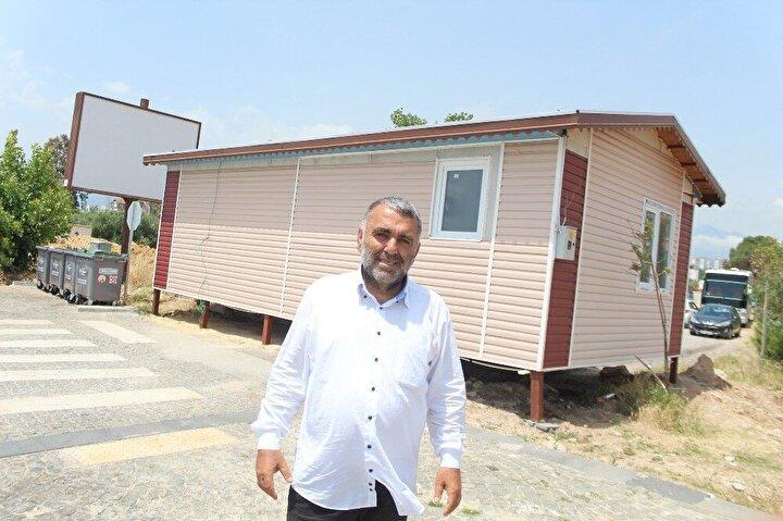 Konyaaltı Belediyesi ise yapı kayıt belgesinin olmamasının nedeniyle prefabriğin kaldırıldığını açıkladı.