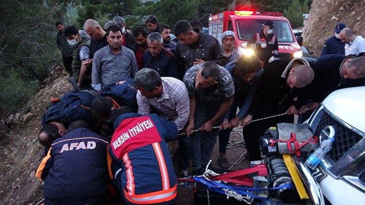 Fakılı Mahallesi yakınlarındaki Göçük Mevkisinde arama yapan gençler önce Ersin'in kamyonetinin ipine rastladı, ardından da araca ait parçaları fark etti. Hasan Ersin'in cansız bedeni ise uçurumun dibinde bulundu.