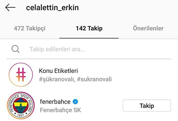 Fenerbahçenin ilgi gösterdiği Caner Erkinin yeniden sarı lacivertli formayı giymesi kulislerde konuşuluyor. Beşiktaştan ayrılması beklenen oyuncunun babası da sosyal medyadan Fenerbahçeyi takibe aldı. Bu durum sosyal medyada taraftarları hareketlendirdi.