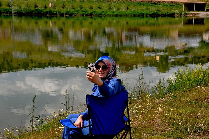 Ernek Yaylasındakidoğal göl,ilgi görüyor