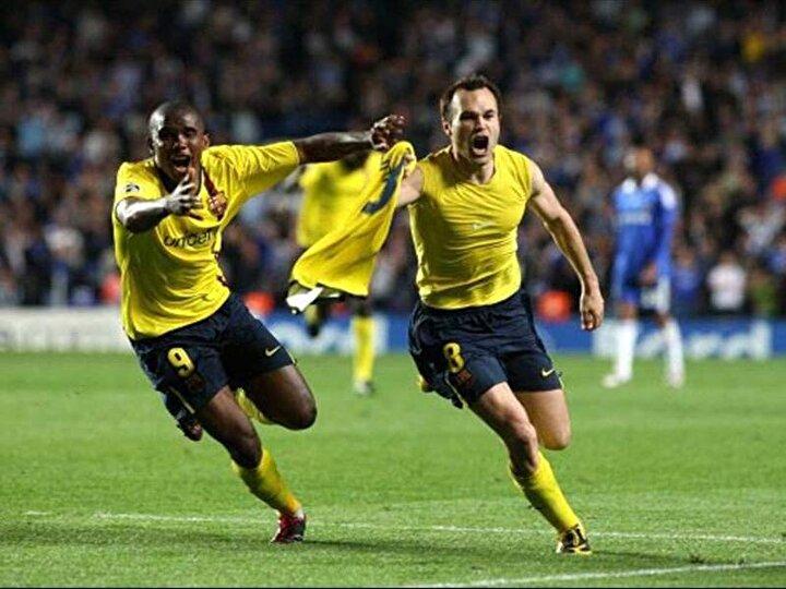 İlker Yasin: Iniesta ve Londra yasta, İngiltere yasta, gol Iniesta! (Chelsea-Barcelona maçı)