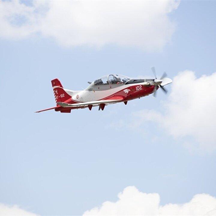 TUSAŞ bugüne kadar 2 Hürkuş-A, 15 Hürkuş-B ve 1 Hürkuş-C olmak üzere toplam 18 Hürkuş üretti. Hürkuş-Blerden 5inin uçuş testleri devam ediyor.