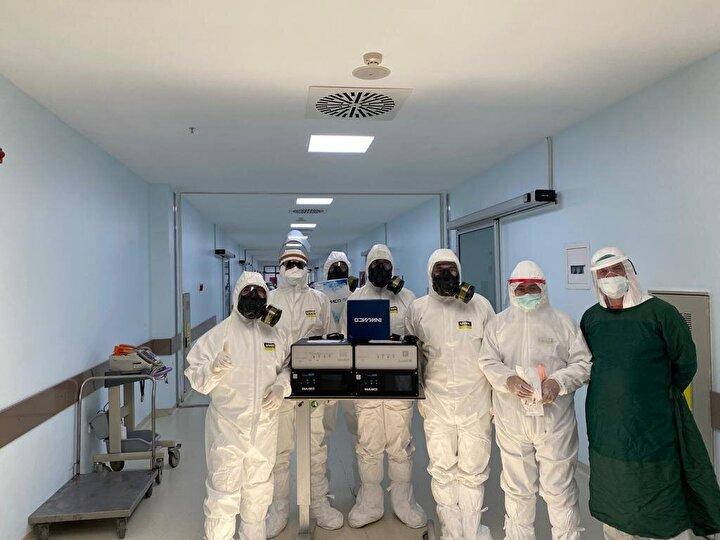 2017 yılından beri bu tedavi yöntemiyle enfeksiyona neden olan patojenler ve mikroorganizmalar üzerinde çalışmalar yürüten RD Global INVAMED, Kasım 2019dan itibaren bu çalışmalarını yoğun bir şekilde Kovid-19 üzerinde odaklanarak sürdürmeye devam etti.