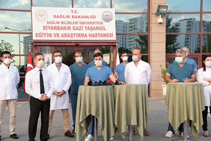 Koronavirüs tedavisinde Diyarbakırdan dünyaya Türk ışını