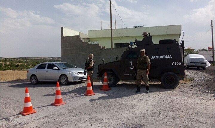 Şanlıurfada 72 ev karantinaya alındı