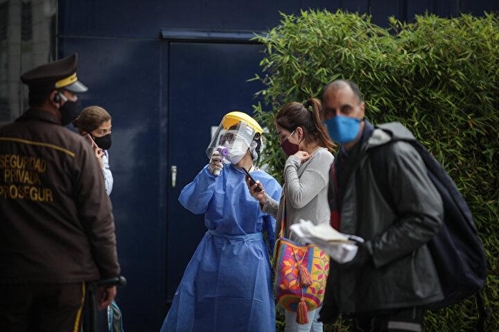Kolombiya'nın başkentinde sağlık sistemi çökmek üzere