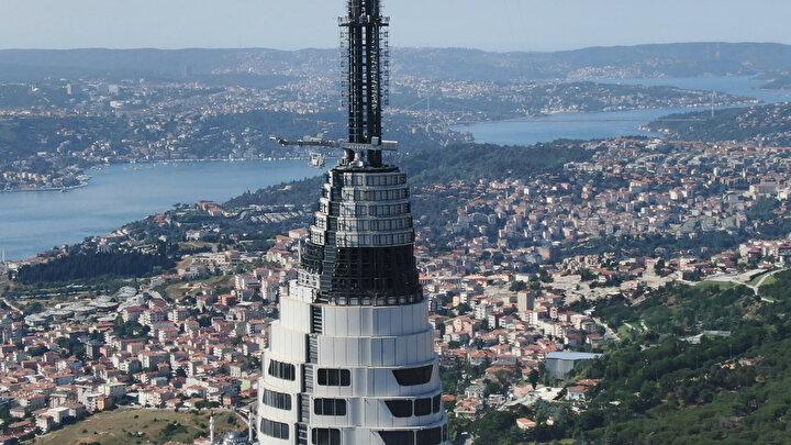 Kuledeki elektronik sistemlerinin tamamlanmasıyla birlikte kulenin yayın için faaliyete geçeceği belirtildi.