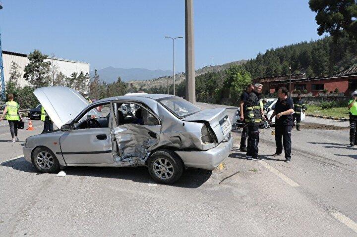 Yaralılar ambulanslarla Karabük Eğitim ve Araştırma Hastanesine kaldırıldı.