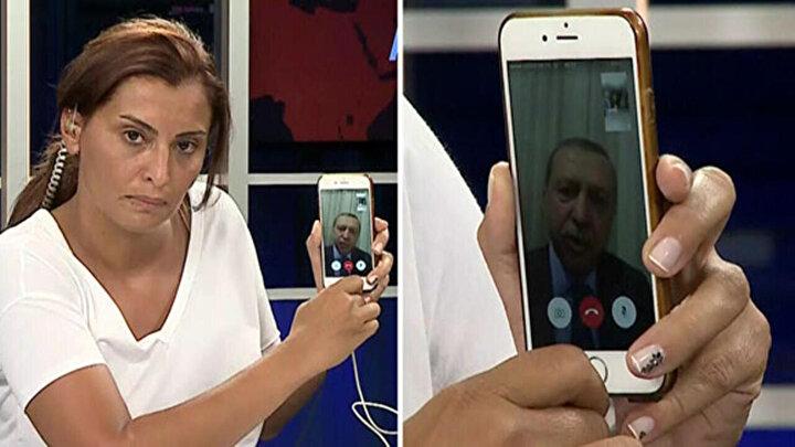 15 Temmuz gecesinin tarihi anlarına aracılık yapan bir telefon vardı. O dönem Doğan TV Ankara Temsilcisi olan Hande Fıratın telefonu. Cumhurbaşkanı Erdoğanla FaceTime bağlantısı yapılan ve Cumhurbaşkanının o tarihi sözlerini Türkiyeye duyuran o telefon.