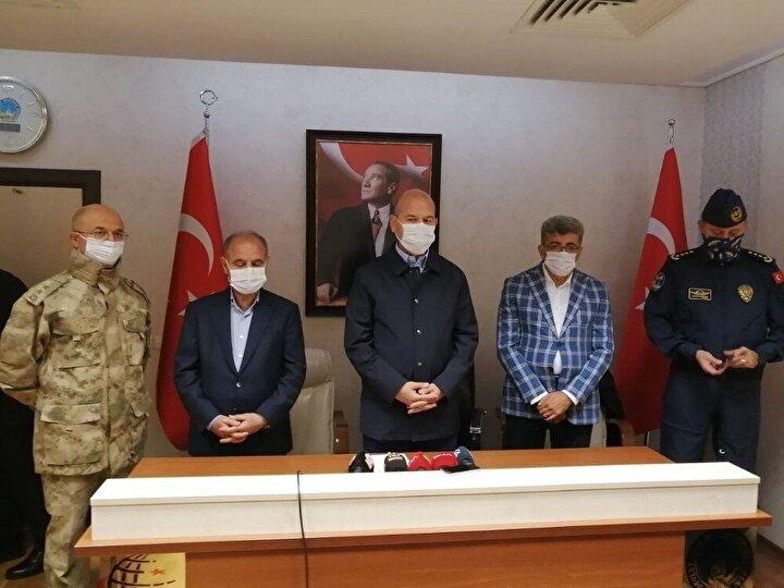 Kaza sonrası Van'a gelen İçişleri Bakanı Süleyman Soylu açıklamalarda bulundu.