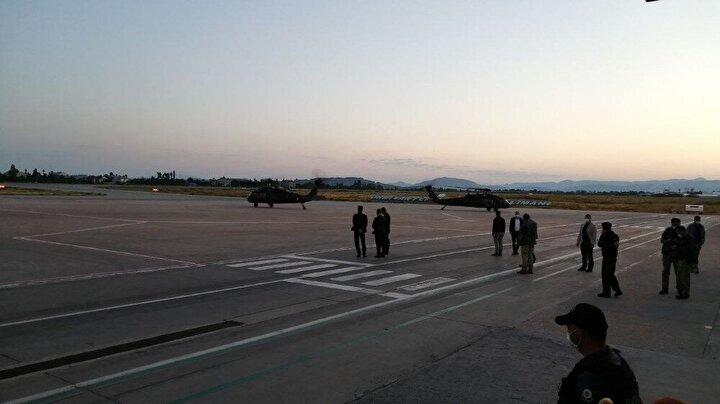 Açıklama sonrası Soylu kaza yerine doğru helikopter arcılığıyla harekete geçti.