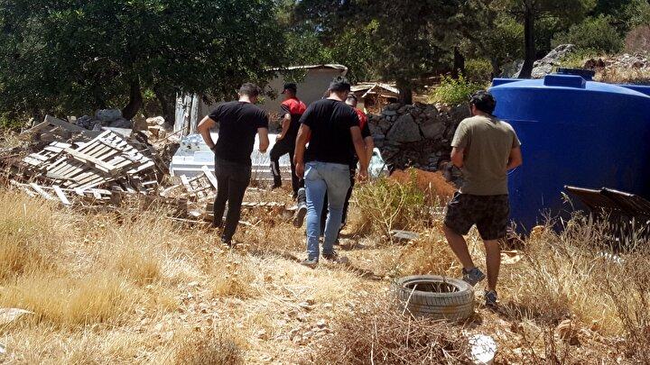 İhbar üzerine bölgeye gelen polis ekipleri, kafatasına incelenmek üzere el koyup, Muğla Adli Tıp Kurumua gönderdi.
