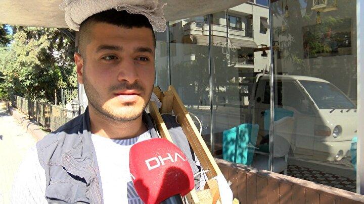 Caddeden geçerken aracının altını taşa vurduğunu söyleyen Murat Doğan ise, Sokağa çıkma yasaklarından beri böyle. İlk önce şuraya kazdılar sonra burayı kazdılar. Denize buradan kanalizasyon da veriliyordu.