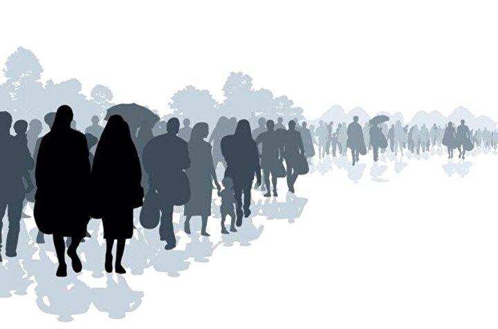 Göç eden nüfusun yüzde 54,6sını erkekler, yüzde 45,4ünü ise kadınlar oluşturdu.