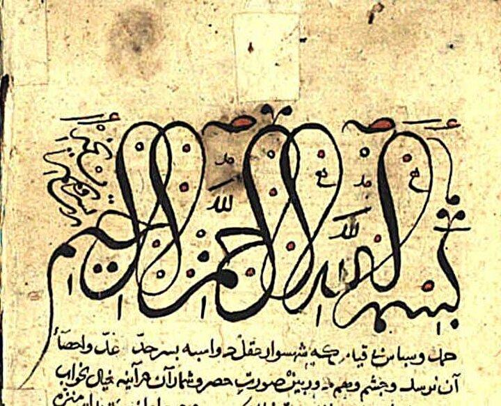 Ayasofya Kütüphanesindeki bazı yazma eserlerde bulunan değişik hatlardan örnekler.