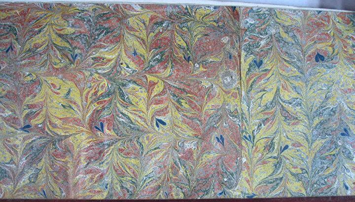 Ayasofya Kütüphanesindeki bazı yazma eserlerde bulunan değişik ebrulardan örnekler.