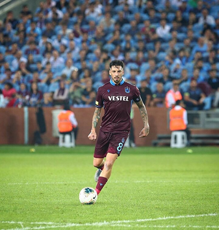 Jose Sosa (Trabzonspor): 29 maç; 9 gol, 7 asist
