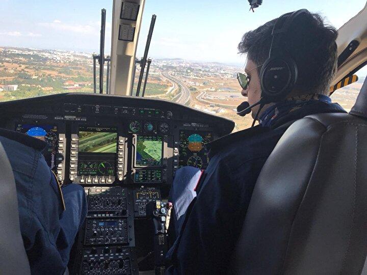 Helikopterle denetim gerçekleştiren polis ekipleri, kaçak kurban kesen kişileri karadaki ekiplere bildirerek müdahale edilmesini sağladı.