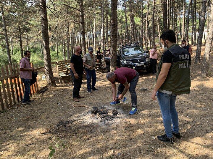 Denetimlerin ormanlık alanlarda düzenli olarak yapılacağı öğrenildi.