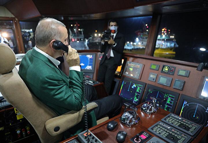 Cumhurbaşkanı Erdoğan Su Ürünleri Av Sezonunun açılışında konuştu