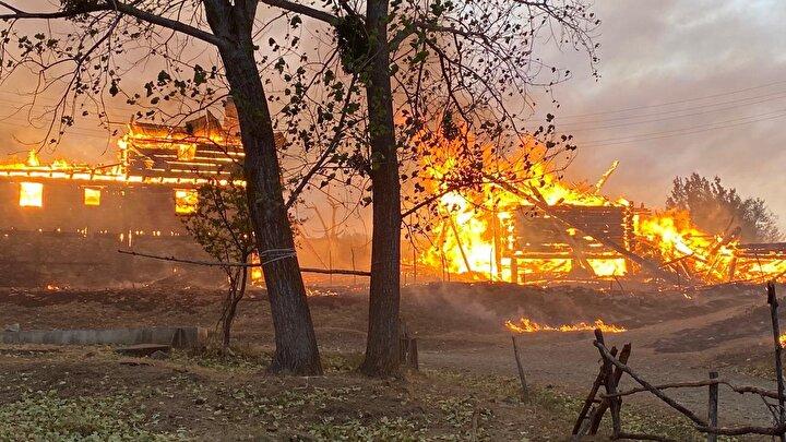 Orman Genel Müdürü Bekir Karacabey, yangının başladığı noktadan güneye doğru ilerlerken rüzgarın yön değiştirmesiyle beraber başladığı noktaya doğru tekrar yöneldiğini belirtti.