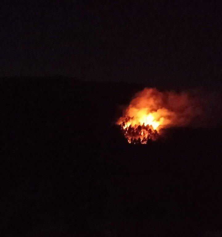 Tokat merkeze bağlı Aydoğan köyünde ormanlık alanda çıkan yangın yaklaşık 10 dönümlük alanda etkili oldu.