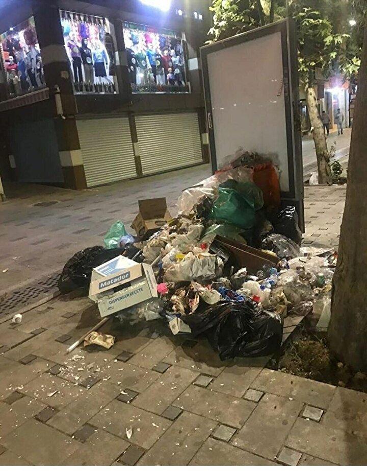 Esnaf Yasin Yazgın ise, Çöp kamyonu gelmiyor. Önceden her gün geliyordu. Şimdi birikiyor. Yukarı mahalledeki evlerde sıkıntı yaratıyor. Görüntü kirliliği oluşturuyor dedi.