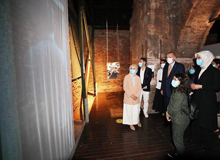 Cumhurbaşkanı Recep Tayyip Erdoğan Kısıklı'daki evinden çıkarak Topkapı Sarayı Darphane-i Amire binasına geldi.