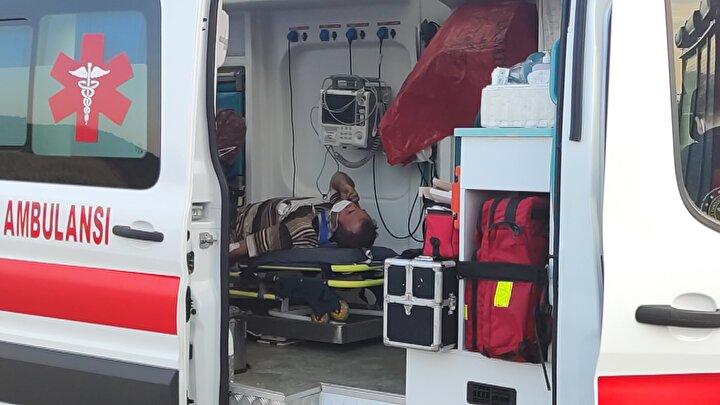 Sağlık ekipleri tarafından olay yerinde ilk müdahalesi yapılan Altay, İnegöl Devlet Hastanesi'ne kaldırıldı.