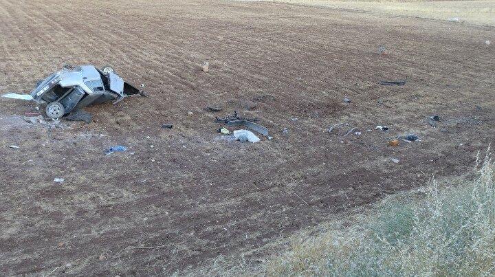 Kazayı görenlerin haber vermesi üzerine olay yerine 112 acil sağlık ve jandarma ekipleri sevk edildi.