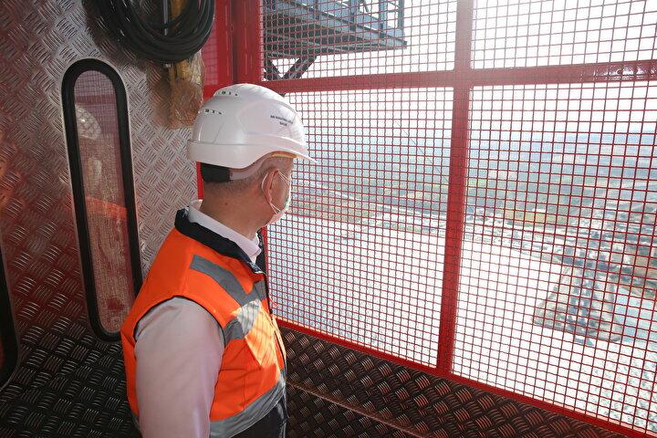Projede 600ü mühendis 5 bin kişinin görev aldığını belirten Karaismailoğlu, şöyle devam etti: