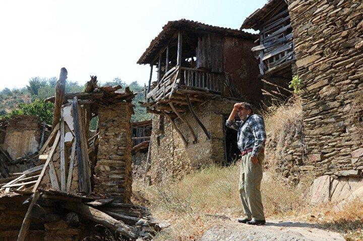Geçmiş yıllarda Lübbey'den göç eden bazı kişiler de korona günlerinde soluğu terk edilmiş köylerinde alıyor.