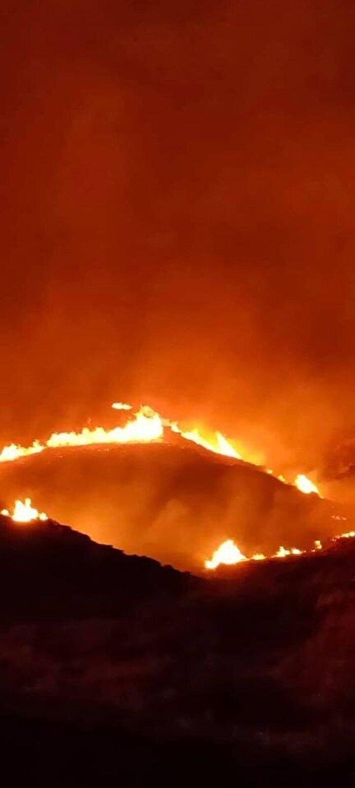 Yangının çıkış nedeninin henüz belli olmadığını ifade eden Gökçeada Belediye Başkanı Ünal Çetin, ekiplerin alevlere yoğun müdahalesinin sürdüğünü belirtti.