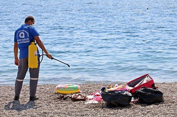 Karantinayı deldi, sahilde ölmek istemiyorum diye bağırıp ortalığı birbirine kattı