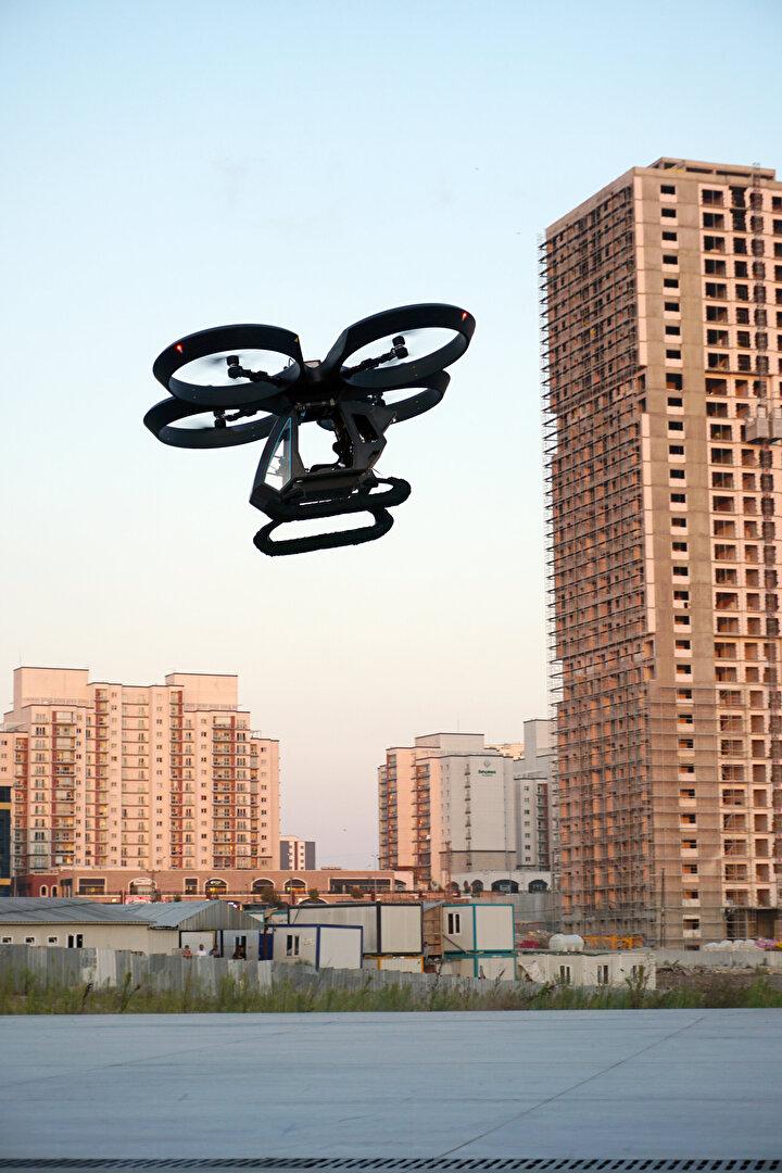 Üç yedekli akıllı uçuş sistemine sahip olan Cezeri, gelecekte yapay zeka sistemleri ile donatılacak.