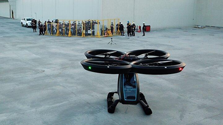 Türkiyenin ilk uçan arabası Cezeri ilk uçuş testlerini başarıyla tamamladı