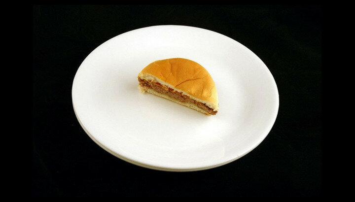 75 gram cheeseburger