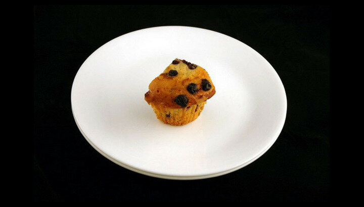 72 gram muffin