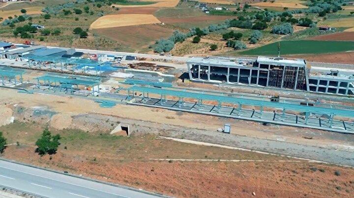 Ankara-Sivas Yüksek Hızlı Tren Hattı (YHT) çalışmalarının büyük bir bölümü tamamlandı.