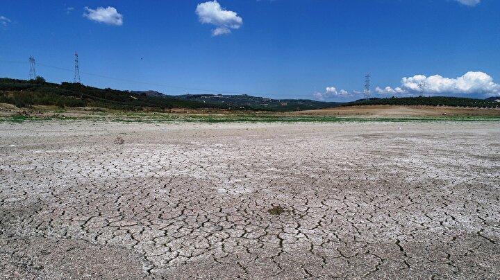 Mudanyaya bağlı Dedeköy, Hasköy ve Ülkü köylerinin yaklaşık 1980 yılından beri tarımsal sulama ihtiyacını karşılayan Hasköy Göleti tamamen kurudu.