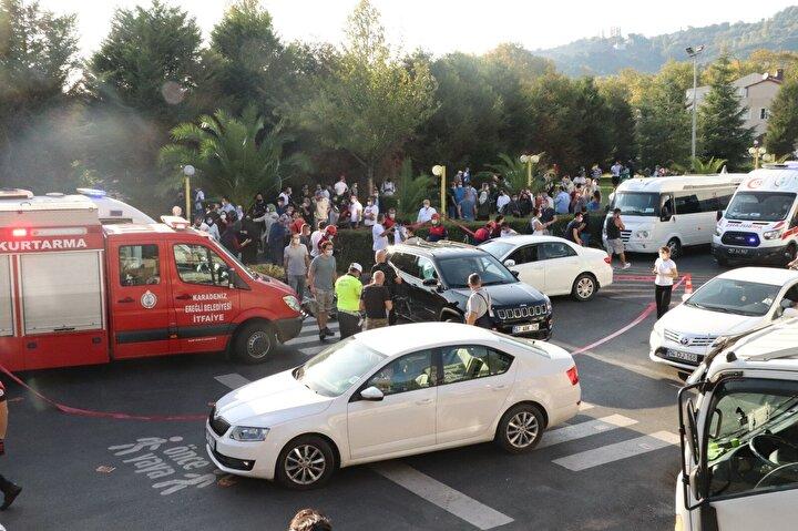Kaza, dün saat 16.30 sıralarında Ereğli ilçesi Süleymanlar Mahallesi Amirallik Kavşağı mevkiinde meydana geldi.