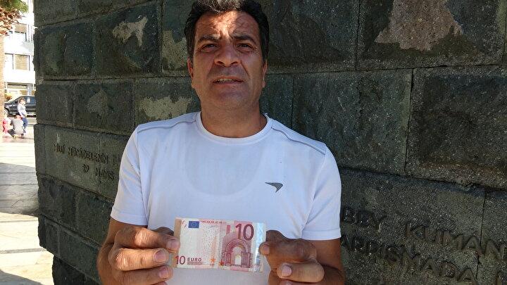Bu durumu ilk başta fazla önemsemediğini söyleyen Aydın Koçyiğit, eşi Carmenin uyarısıyla hatalı basım olduğunu düşündükleri 10 Euroyu harcamayıp, saklamaya karar verdi. Türkiyeye döndüklerinde de 10 Euroyu sandığa koyup saklamaya başladı.