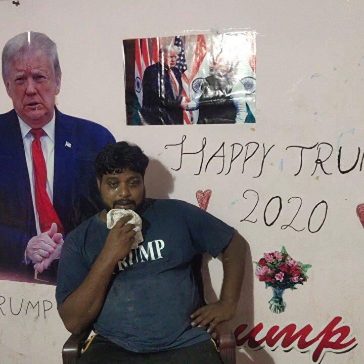 Düzgün bir şekilde yemek yemeyen Krişna'nın, Donald Trump'ın hastalığını yenmesi için 4 gün oruç tuttuğu belirtildi.